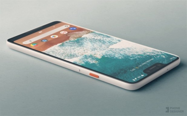 Pixel 3 concept