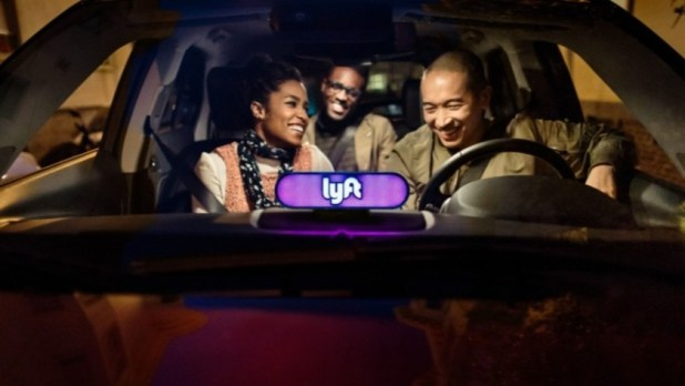Lyft carpooling press image