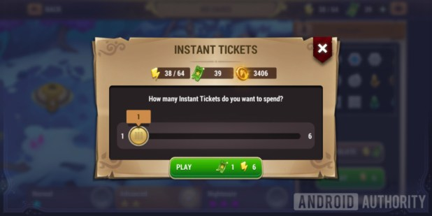 might & magic elemental guardians instant tickets simulate