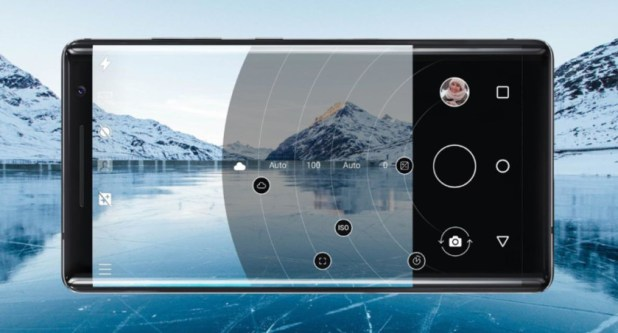 The Pro Camera update on the Nokia 8 Sirocco.