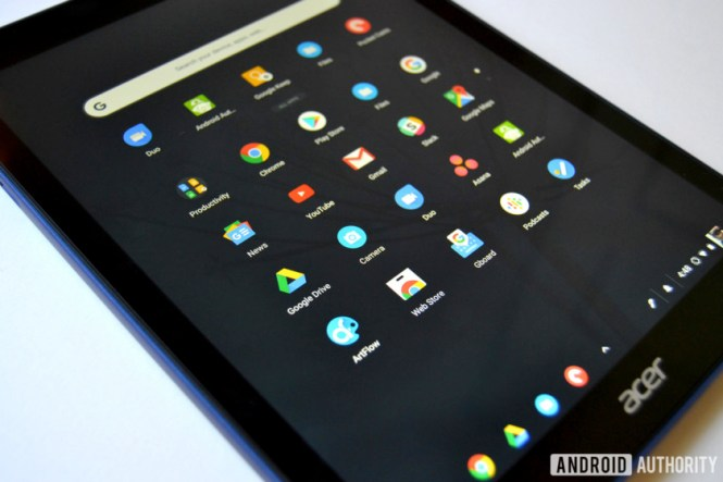 chromebook tab 10 review chrome os apps