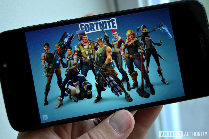 fortnite android home screen