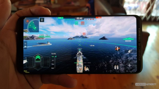 World of Warships Blitz on the Mate RS.
