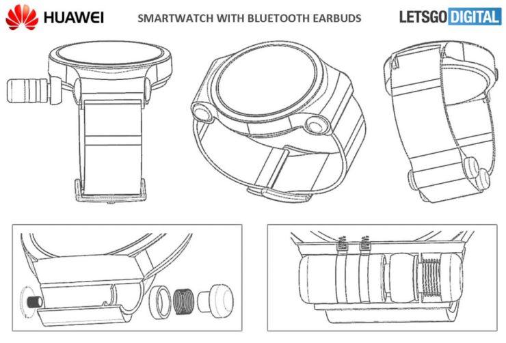 Huawei Smartwatch earbuds