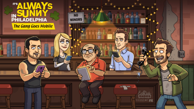 It's Always Sunny Game - Character Art
