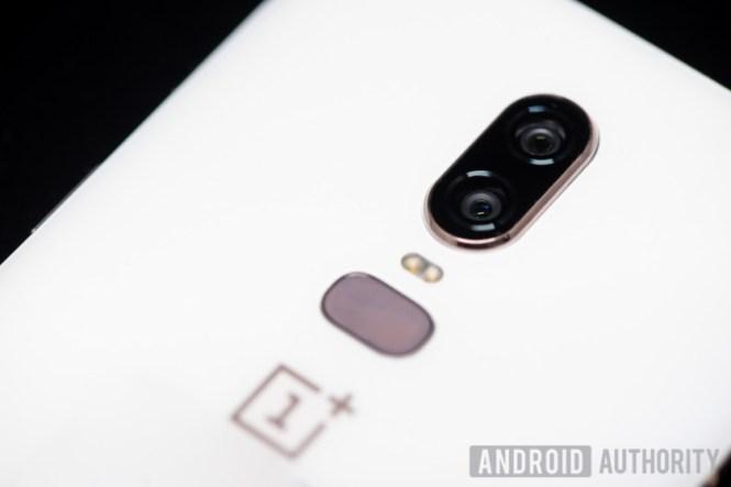 OnePlus 6 white