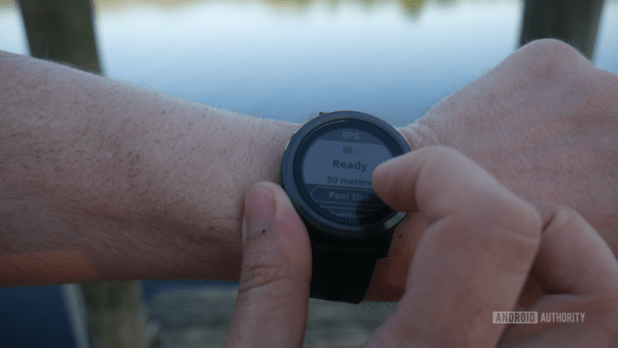 Fitness tracking swimming