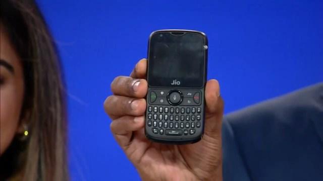 The JioPhone 2.
