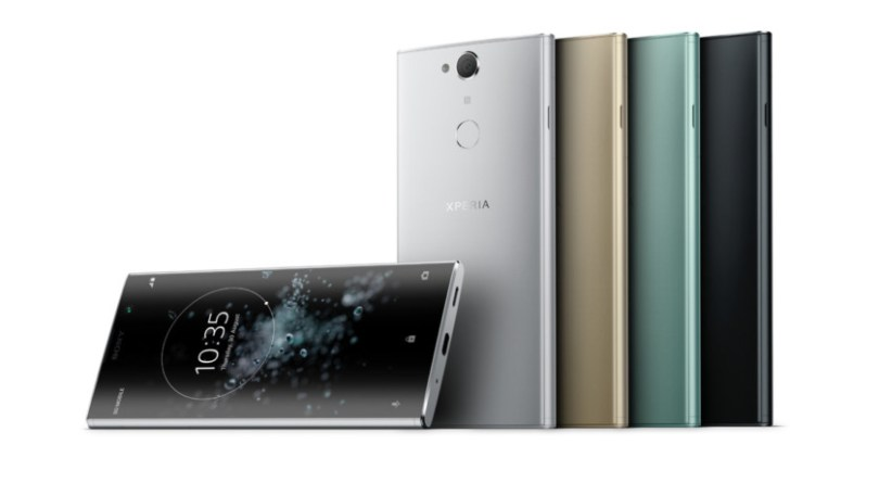 The Sony Xperia XA2 Plus.