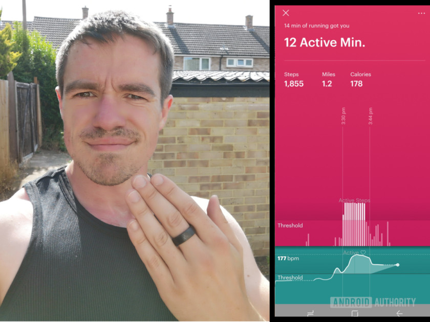 Running with the Motiv Ring and the app, Motiv Ring review