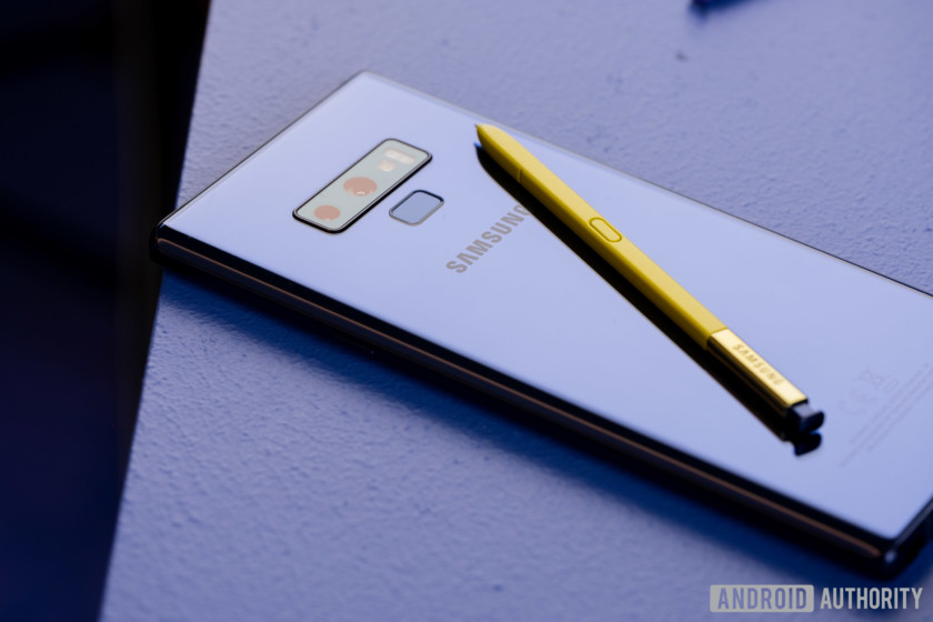 Samsung Galaxy Note 9.