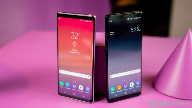 Samsung Galaxy Note 9 versus Samsung Galaxy Note 8 Quick look-11