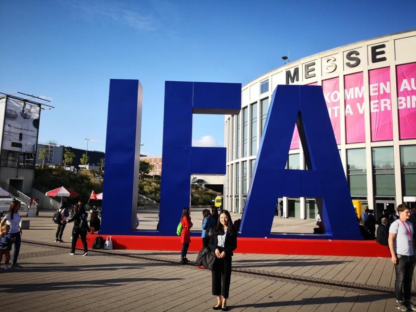 IFA Berlin 2018 logo outside Messe, Berlin