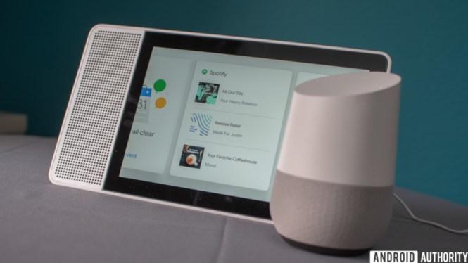 Lenovo Smart Display vs Google Home