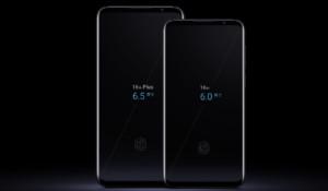 The Meizu 16 and Meizu 16 Plus.