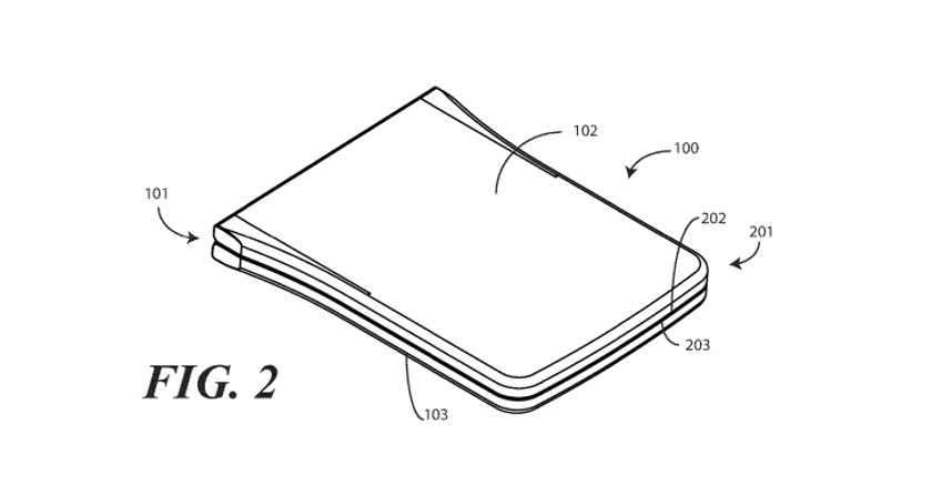 Motorola foldable phone patent is basically a modern Razr