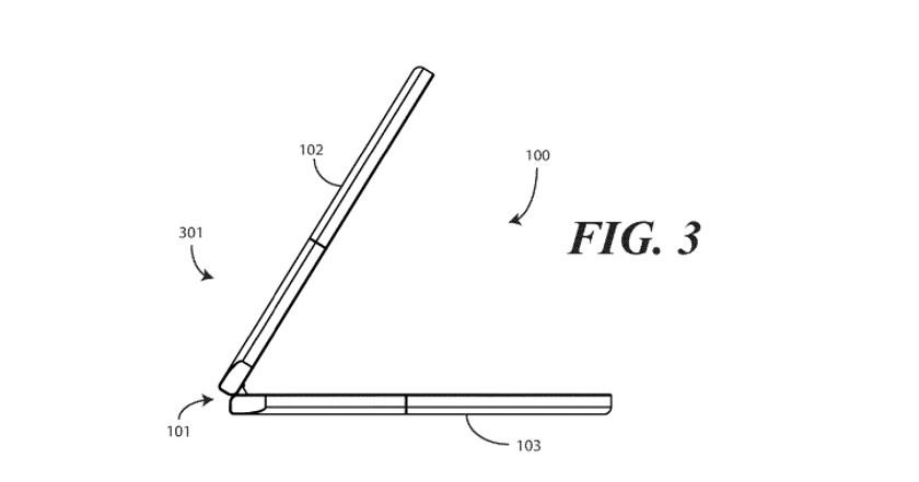 Motorola foldable phone patent is basically a modern Razr