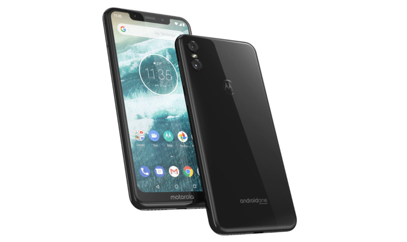 A look at the Motorola One.