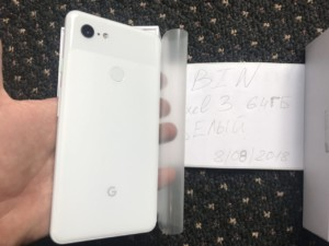 Google Pixel 3 XL leak rear power button