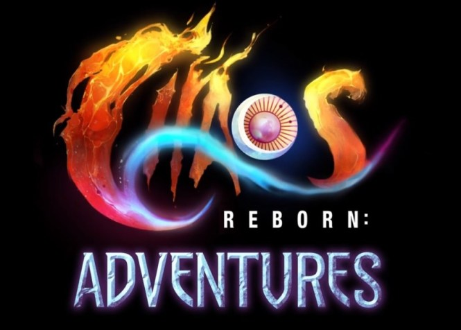 The title card for SRPG game Chaos Reborn: Adventures.