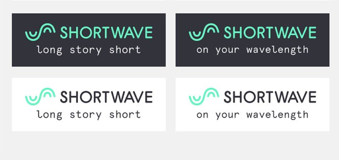 A leaked image of various logos for Google Shortwave.