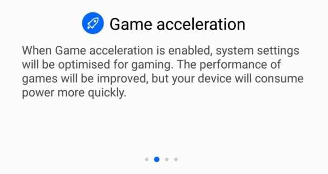 Huawei Game Acceleration Mode