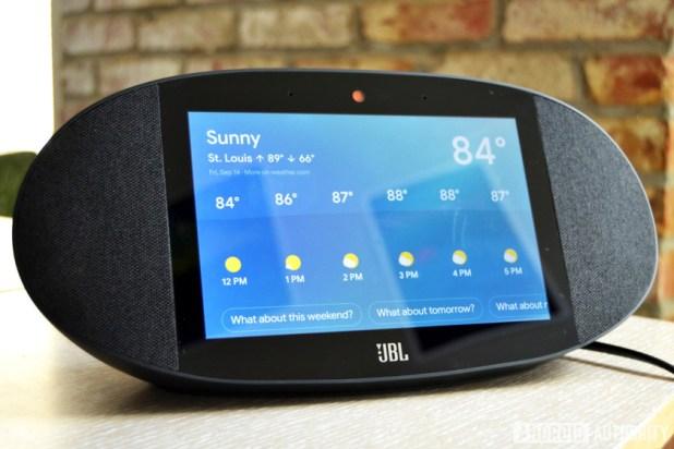 JBL Link View Smart Display review AA 20