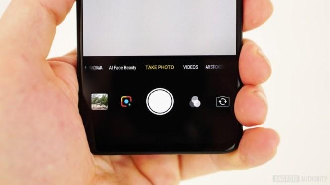 Vivo V11 review - camera app