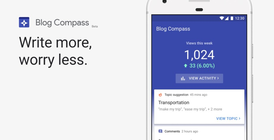 Meet Blog Compass: Google's new app for bloggers - Android Authority