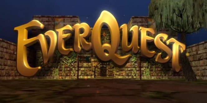 The logo for MMORPG EverQuest.