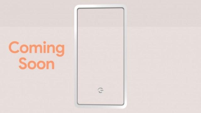 Google Pixel 3 teaser pink