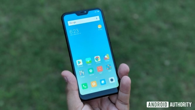 Xiaomi Redmi 6 Pro display