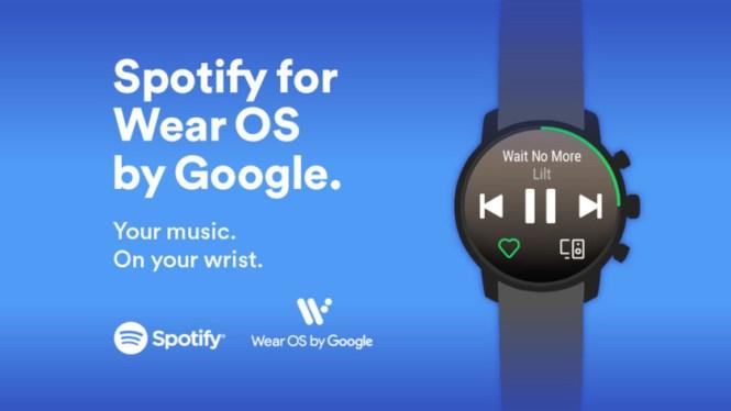 Spotify app for Wear OS