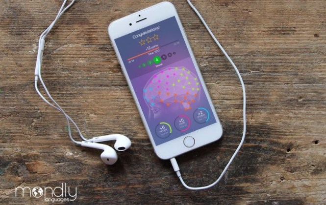 Mondly App on Phone