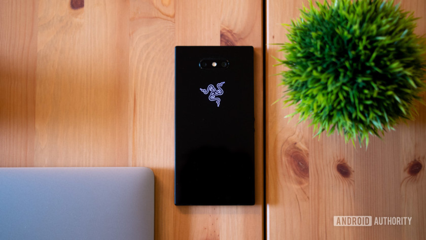 The back of the Razer Phone 2