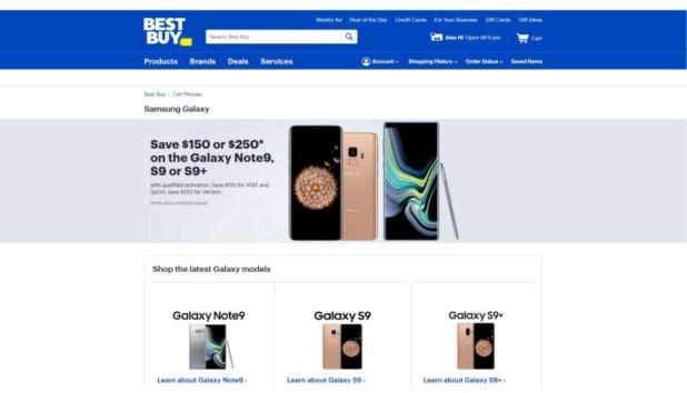 Best Buy Samsung Galaxy offer