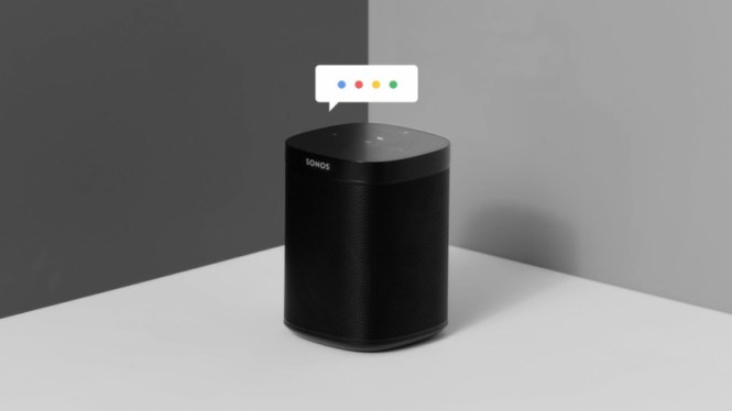 Sonos with Google Assistant support