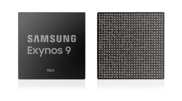 A render of the Samsung Galaxy Exynos 9820.
