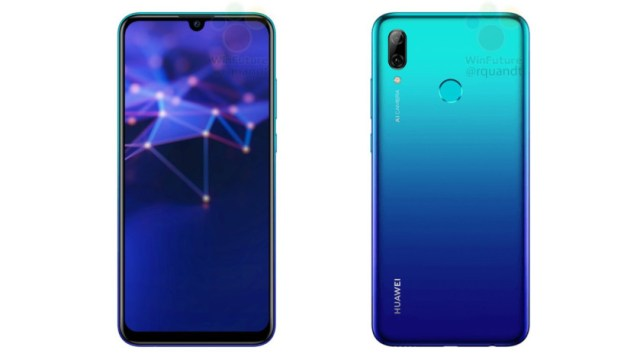 An image supposedly showing the Huawei P Smart 2019.