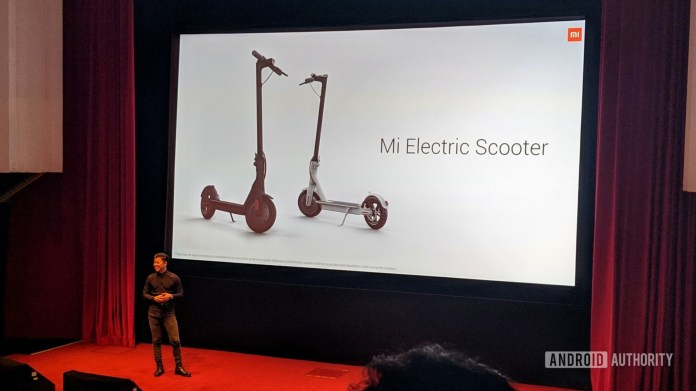 Xiaomi Mi Electric Scooter at UK launch