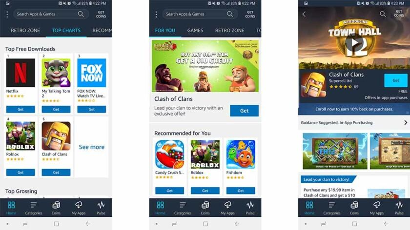 Amazon Appstore: las mejores tiendas de aplicaciones