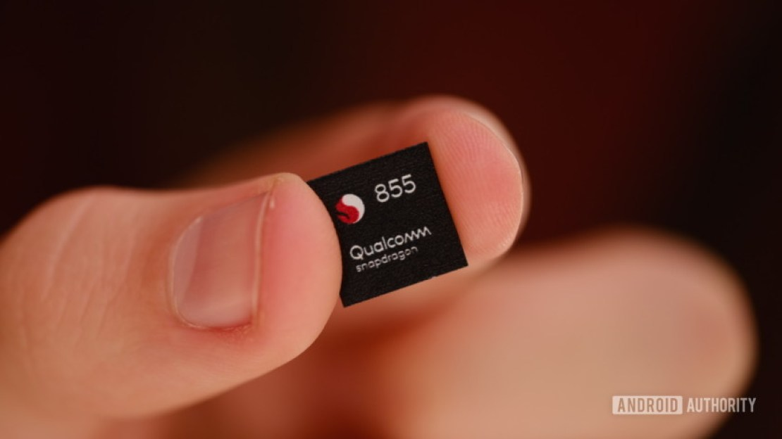 The Qualcomm Snapdragon 855.