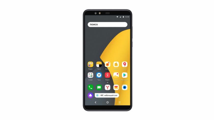 Yandex.Phone Android smartphone.