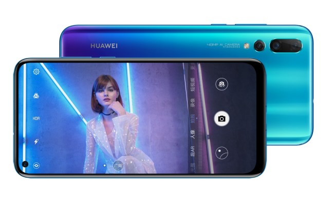 Huawei Launches Nova 4 With Hole Punch Display And 48mp