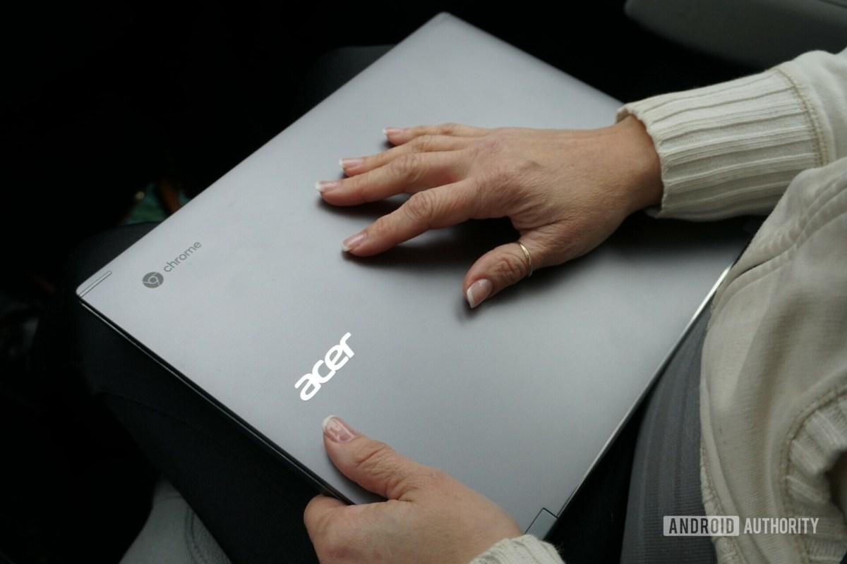 Как сбросить Chromebook - Acer Chromebook 13