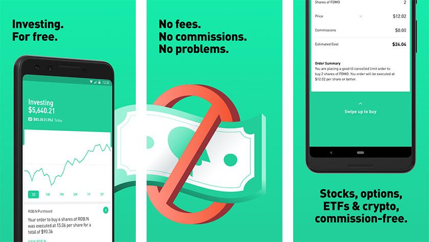 Robinhood - одно из лучших инвестиционных приложений для Android