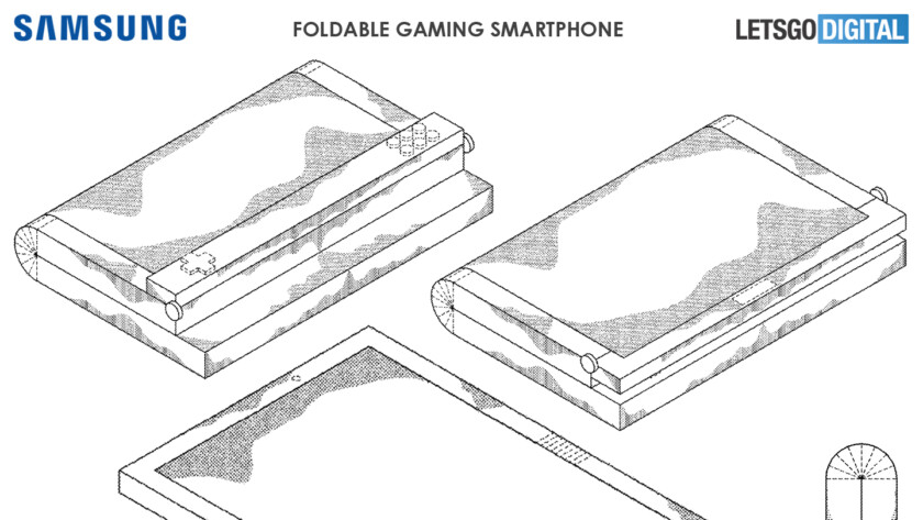 Patent suggests a Samsung foldable gaming phone with