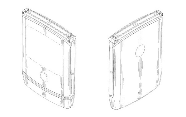 Motorola patent filing hints at Razr phone's folding