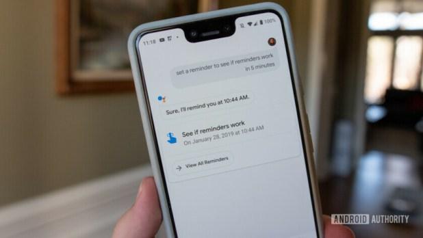 Google Assistant Broken Reminders