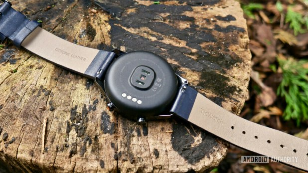 TicWatch C2 review heart rate monitor